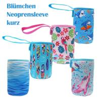 Blümchen Neoprene bottle sleeve 120mm