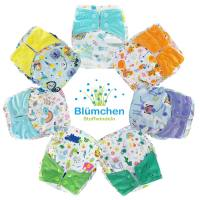 Blümchen All-in-One Bamboo OneSize Snap (3,5-15kg) Fantasy Edition