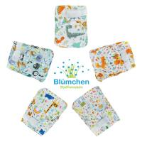Blümchen Slimfit diaper cover OneSize without gusset Designs