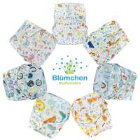 Blümchen 2in1 ECO shell OneSize Snap Fantasy (3-16kg)