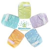 Blümchen Pocket diaper shell YKK hook and loop uni (3-16kg)
