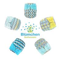 Blümchen All-in-One Bamboo OneSize Snap (3,5-15kg) geometric designs