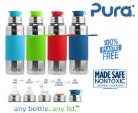 Pura Stainless steel Insulated Sport bottle 600ml Sleeve (1 pc)