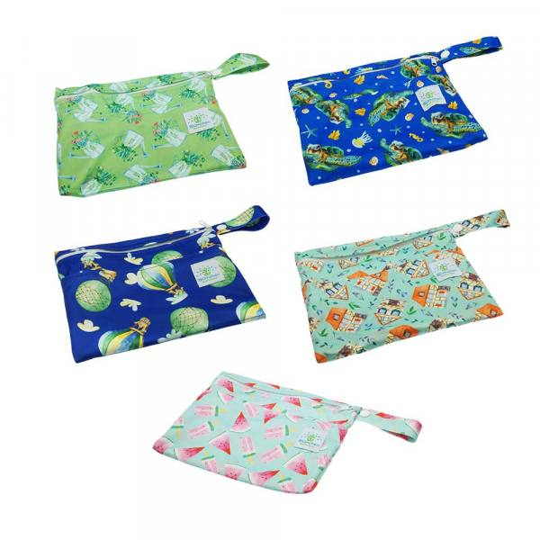 Blümchen pantyliner wetbag PUL XS watercolor collection