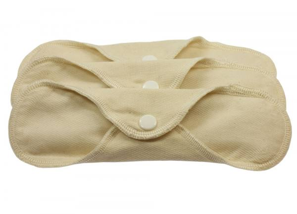 Blümchen waterproof panty liner Organic Cotton TWILL 3pcs.*